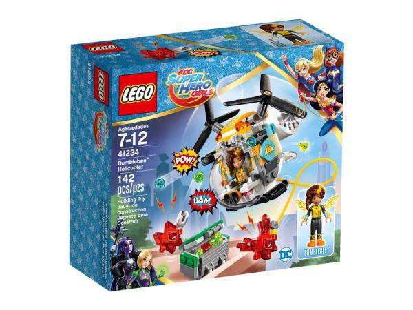 ЛЕГО Супер Герои Момичета -   Хеликоптер на Бръмбъра™ 41234