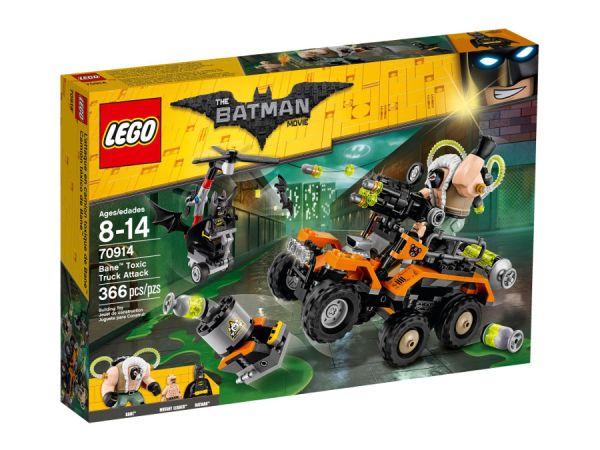 ЛЕГО  Батман Филмът - Нападение с токсичния камион на Бейн™ 70914