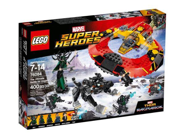 ЛЕГО Супер Хироус - Битката за Асгард 76084
