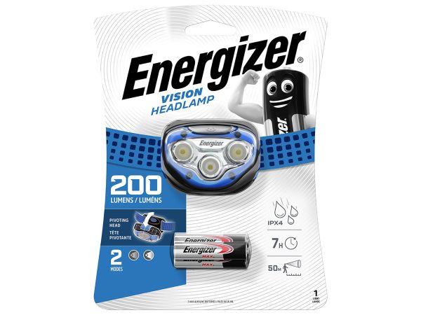 Фенер Челник Енерджайзер Вижън 100 Лумена Energizer Vision Headlight 100 Lumens