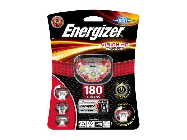 Фенер Челник Енерджайзер Вижън 180 Лумена Energizer Vision HD Headlight 180 Lumens