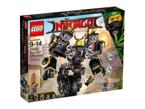 ЛЕГО Нинджаго  Филмът - Земетръсен робот 70632