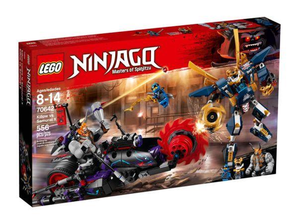 ЛЕГО Нинджаго  Филмът -  Killow срещу Samurai X  70642