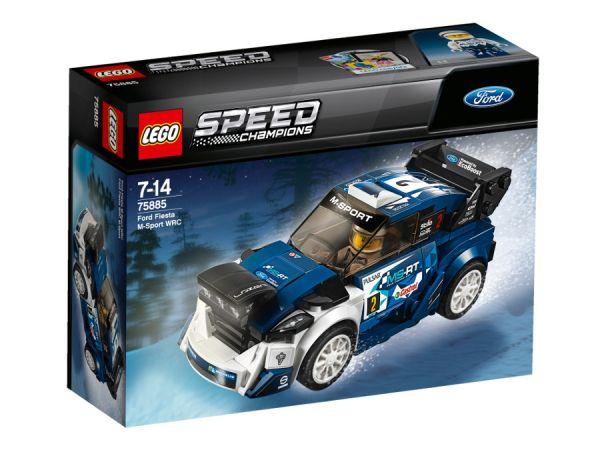 ЛЕГО Спийд Шампиони -  Форд Фиеста М-Спорт 75885