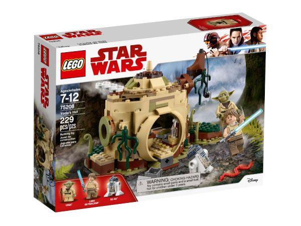 ЛЕГО Стар Уорс - Хижата на Yoda 75208