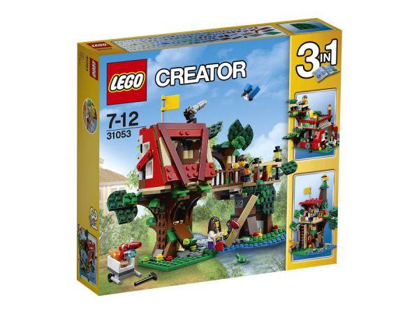 ЛЕГО Криейтър -  Съкровищата на дървестната къща 31078