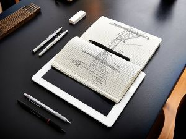 Автоматичен молив Ротринг Rotring 800, черен, 0.5 mm, ВАР