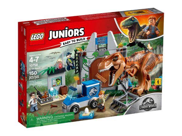 ЛЕГО Джуниърс - Бягство на тиранозавър 10758